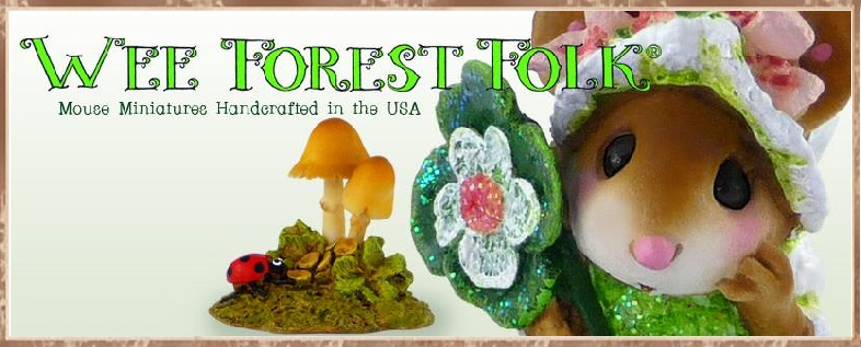 Wee Forest Folk St. Patrick's Day Banner